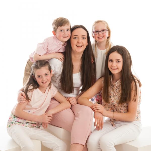 Family portrait Photographer Tipperary Ireland Ni Riain photography