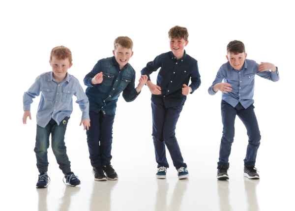 Fun Family portrait Photographer Tipperary Ireland Ni Riain photography