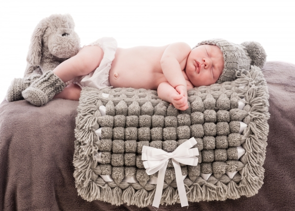 Newborn baby professional portrait Tipperary Ireland Ni Riain photography