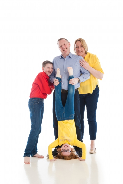 Family fun portrait Photographer Tipperary Ireland Ni Riain photography