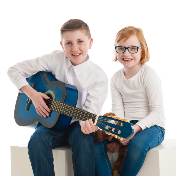 Family music hobby  portrait Photographer Tipperary Ireland Ni Riain photography