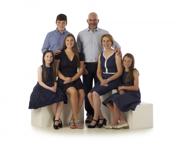 Ni Riain Photography Studio family portrait Tipperary Ireland