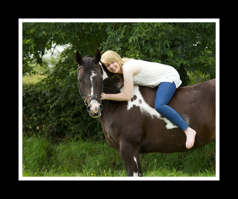Equine Portrait of Laura Breen & her horse