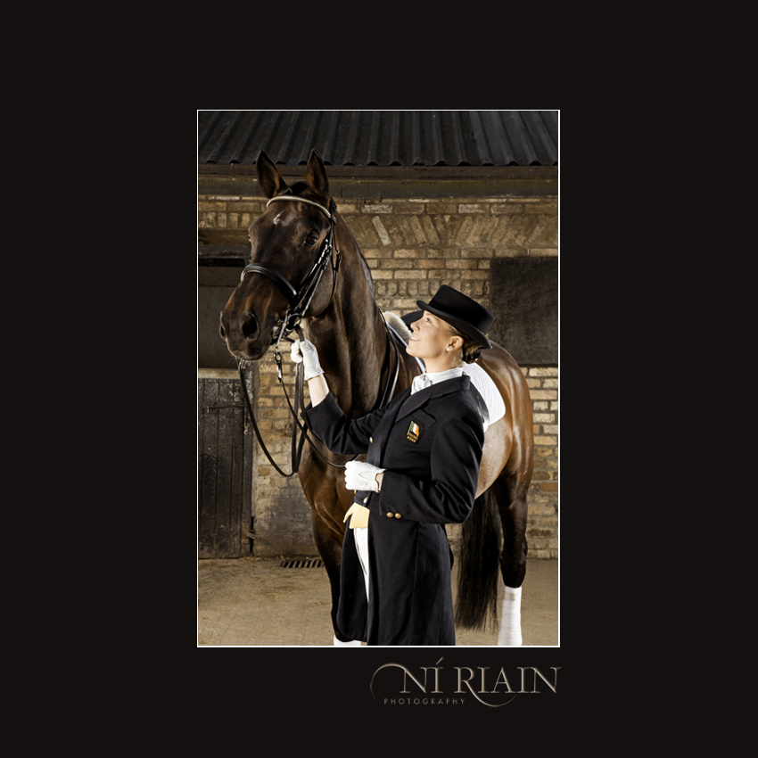 Dressage Horse & Rider Equine Photography by Ni Riain Photogaphy