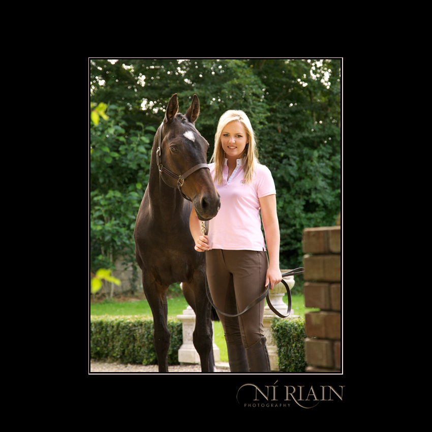 Event rider and Eventing Horse Equine photo shoot by Ni Riain Photography