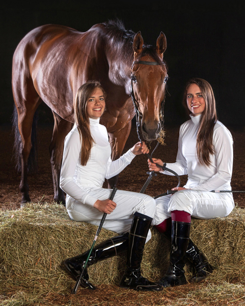 Sarah and Ana O'Brien Ballydoyle Racing Flat Racing Fairylikes I