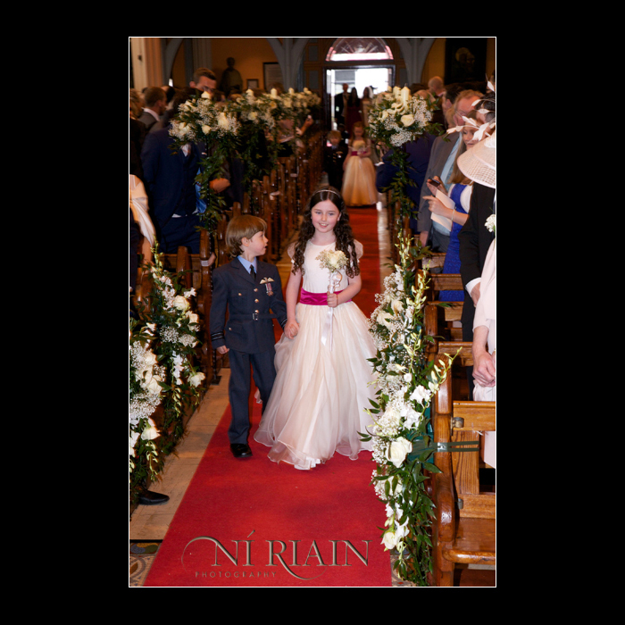 Pageboy and Flowergirl Ennis Cathedral