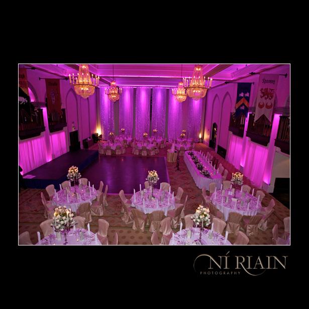 Dromoland Castle Wedding reception Brian Boru