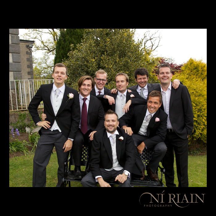 Fun Candid Wedding photographers Ireland Reportage Dundrum House Hotel Tipperary professional  Ni Riain photography