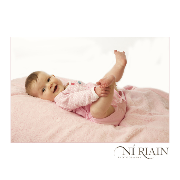 Newborn Baby studio Portrait christening first birthday gift ide