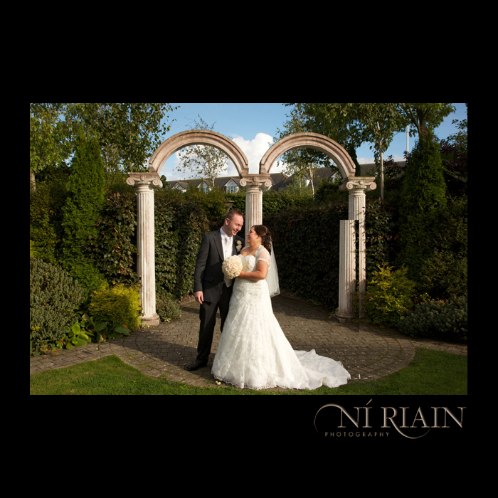 Abbey Court Hotel Wedding Garden