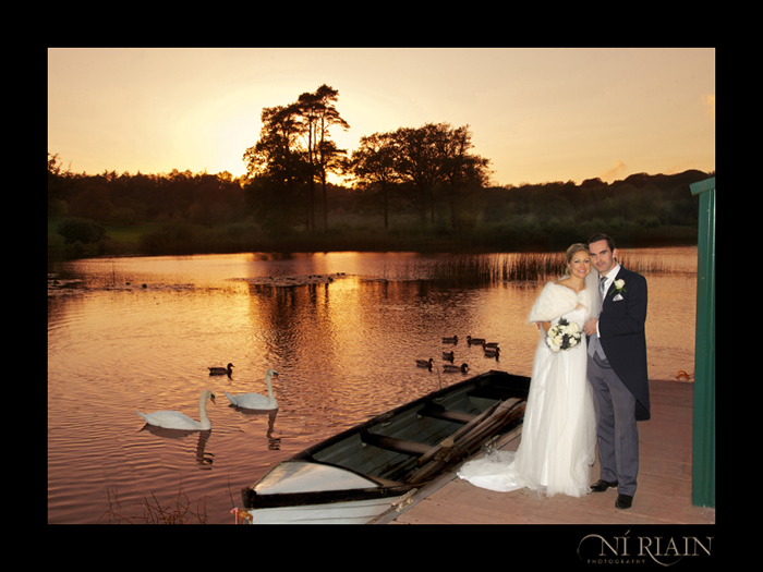 Dromoland Castle Swan Lake Wedding photographer Ni Riain Photography