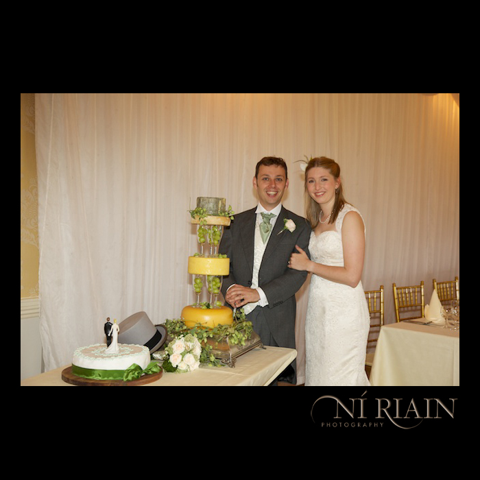 Wedding Cake Alternative reportage wedding photographyers Tipperary Ireland Dundrum House Hotel Ni Riain Photography